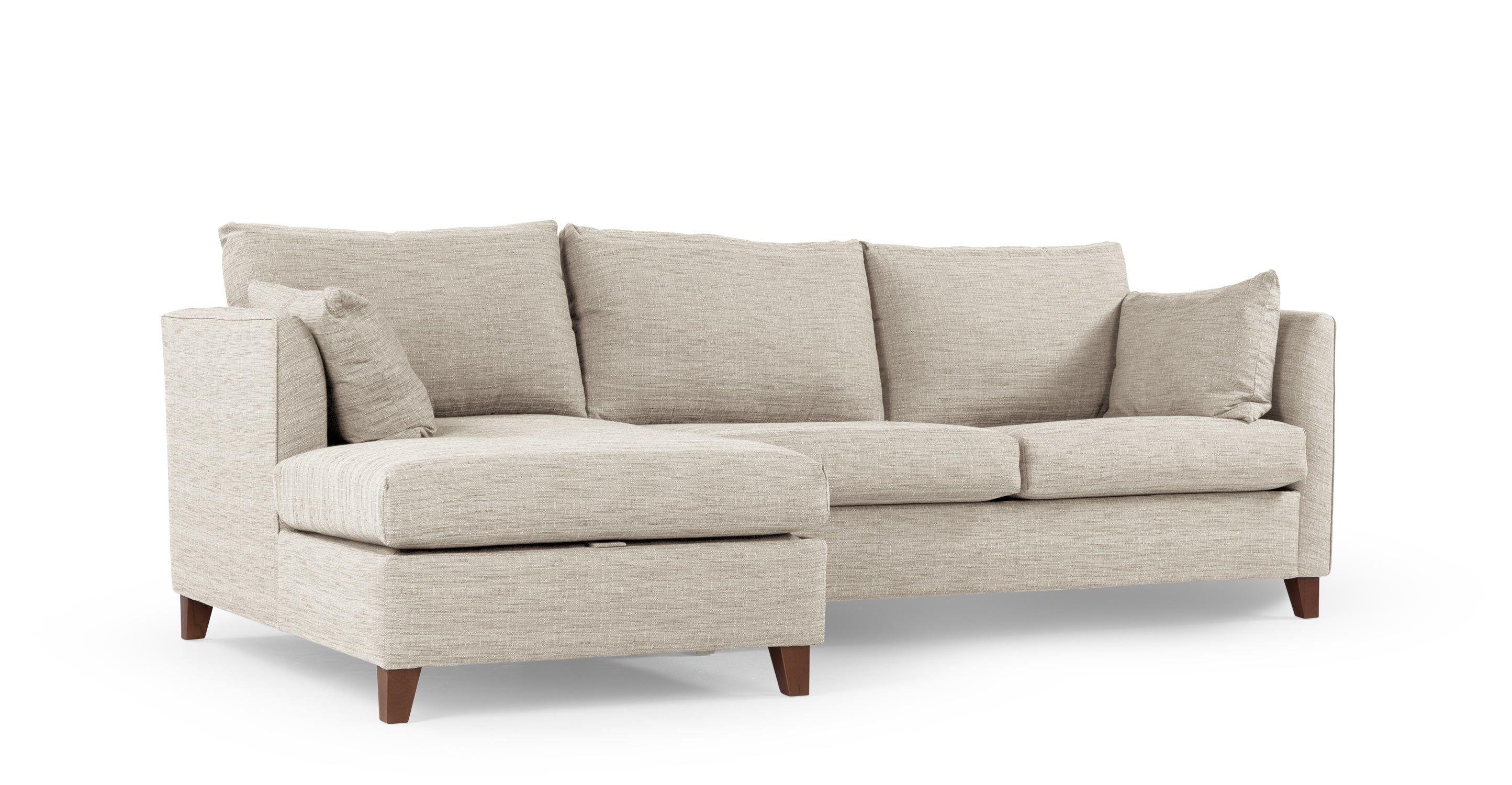 Bari Corner Sofa With Storage Space And Chaise Lounge Left Malva Beige Made Com Muebles Interiores Y Casas