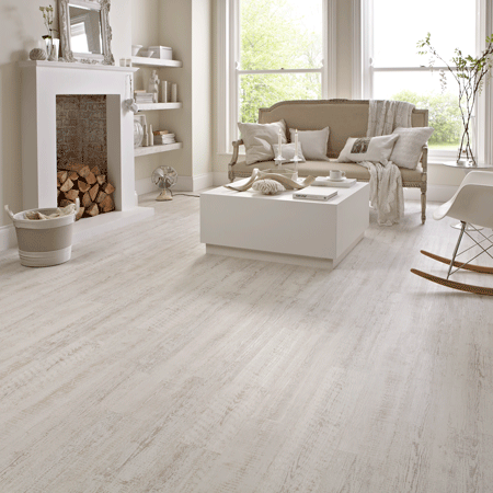 Kp105 White Painted Pine Karndean Designflooring In 2019