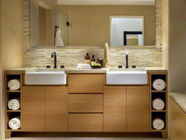 Spa Ausstattung im Badezimmer - Schaffen Sie entspannende Atmosphäre ...