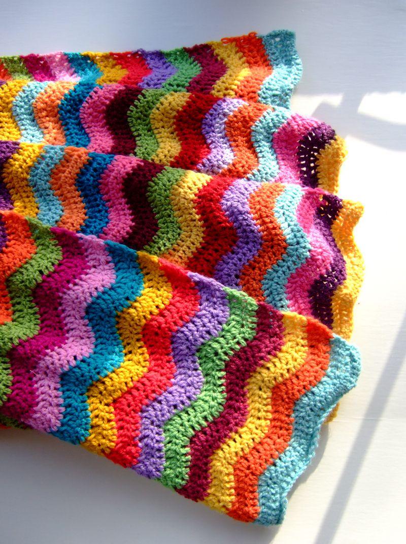I want a chevron crochet blanket so bad #can\'t crochet or follow ...