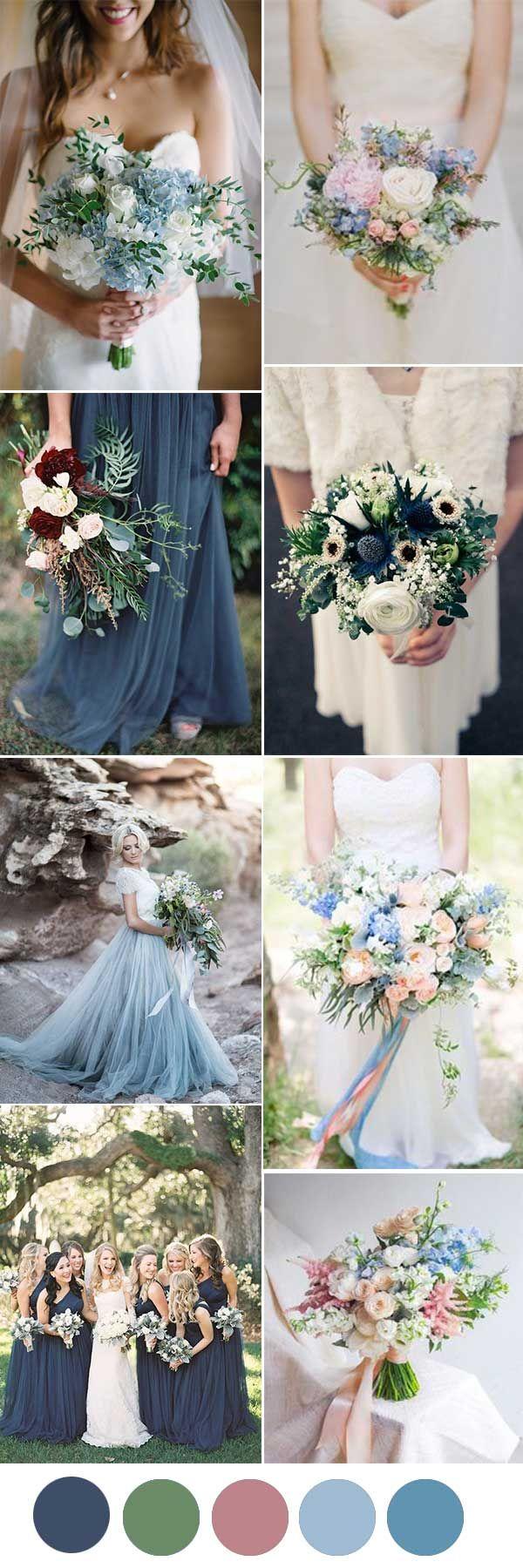 PRETTIEST SHADE OF BLUE WEDDING TREND IN