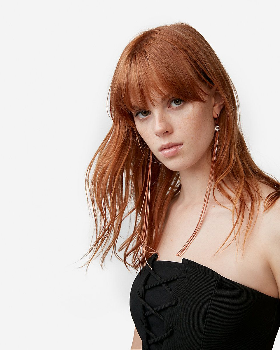 Product image | Natural red hair, Red hair with bangs, Red hair woman