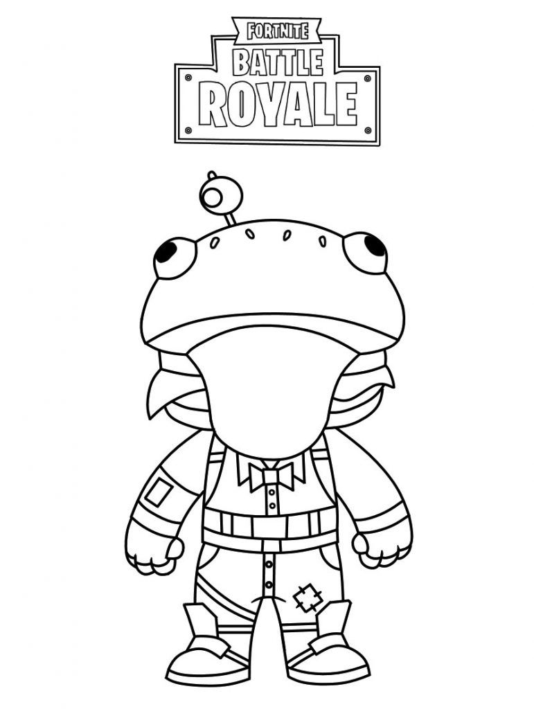 Fortnite Coloring Pages Video Game Coloring Pages