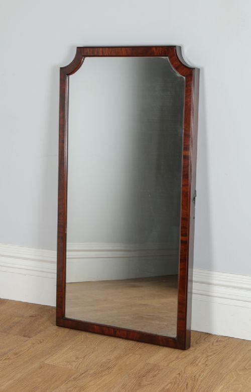 Victorian Mahogany Wall / Floor Standing / Cheval Rectangular ...