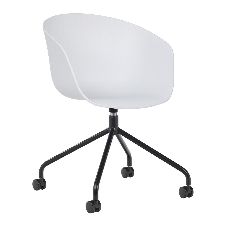 Chaise de Bureau à roulettes Yäh - SKLUM en 7  Chaise bureau