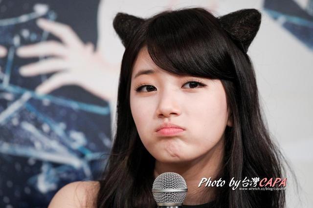 MissA Suji 수지 고양이, 고양이 귀도 잘 어울리는 미쓰에이 수지 대만 프로모션