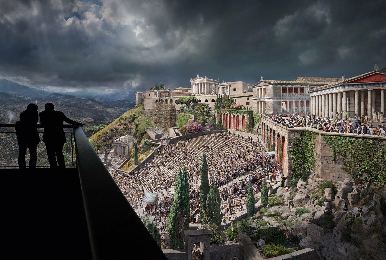 Reise Nach Pergamon Ausstellung Und Asisi Panorama In Berlin Eroffnet Entdeckungsreise Antike Berlin