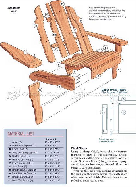 2919 build adirondack chair outdoor furniture plans woodworking rh pinterest co uk
