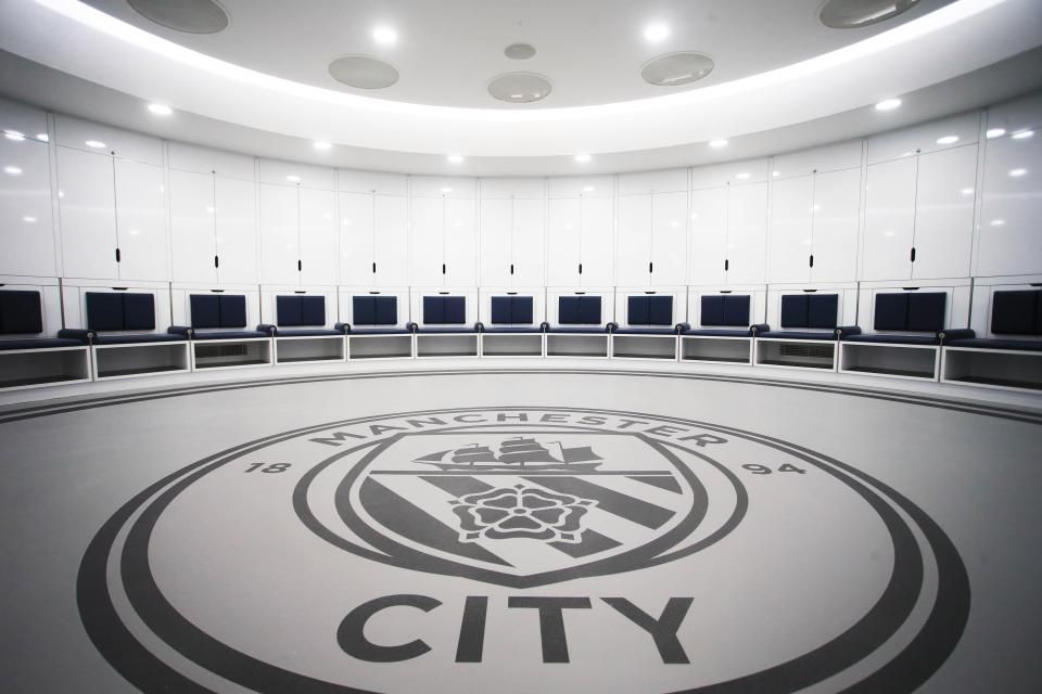 image result for manchester city locker room sports manchester rh pinterest com