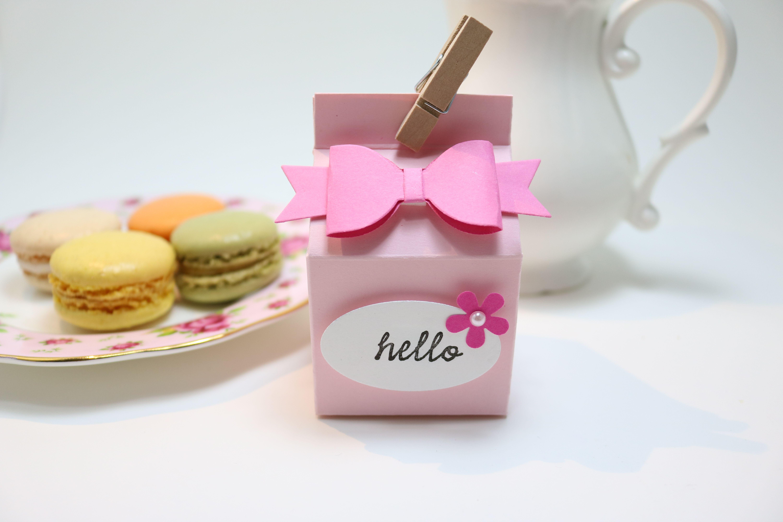 Macaron Favor Box | Macaron Party Favor Boxes | Pinterest