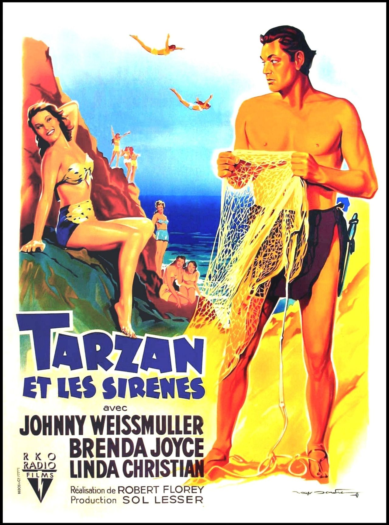 tarzan johnny weissmuller french