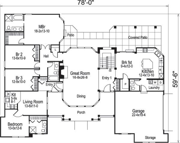 138 1181 floor plan main level family and theatre room in rh pinterest com