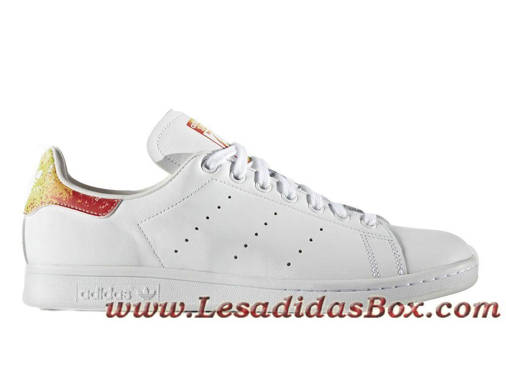 dd00973c7d8dc Adidas Originals Homme Femme Chaussures stan smith Pride Pack BB1686 Adidas  prix