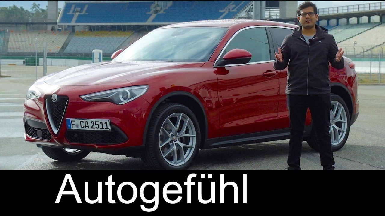 alfa stelvio full review racetrack vs giulia quadrifoglio test rh pinterest com