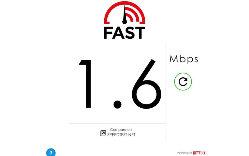 Netflix S Fast Com Tool Will Check Your Internet Speed Internet Speed Check Internet Speed Netflix