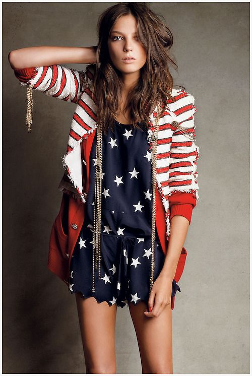 Fourth Of July Fashion Ideas Fashion Patriotic Fashion Style