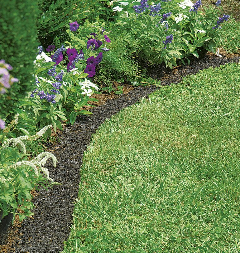 Permanent Mulch reduces time, resources and labor a