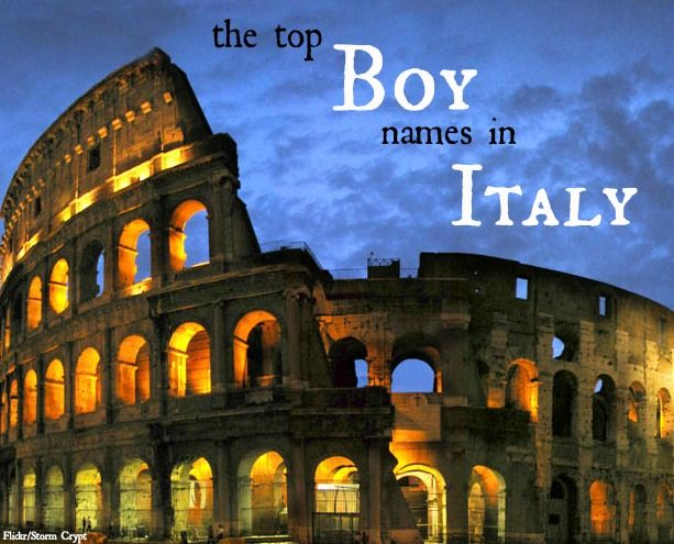 Italian Boy Name: Most Popular Baby Names For Boys In Italy. Including
