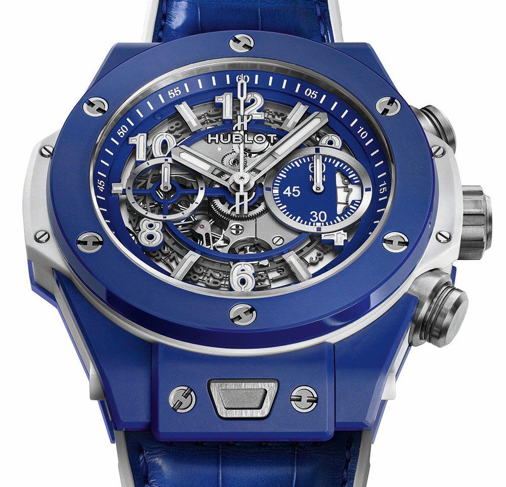 6a68e468863 Hublot Big Bang Blue Watch Relógios Hublot