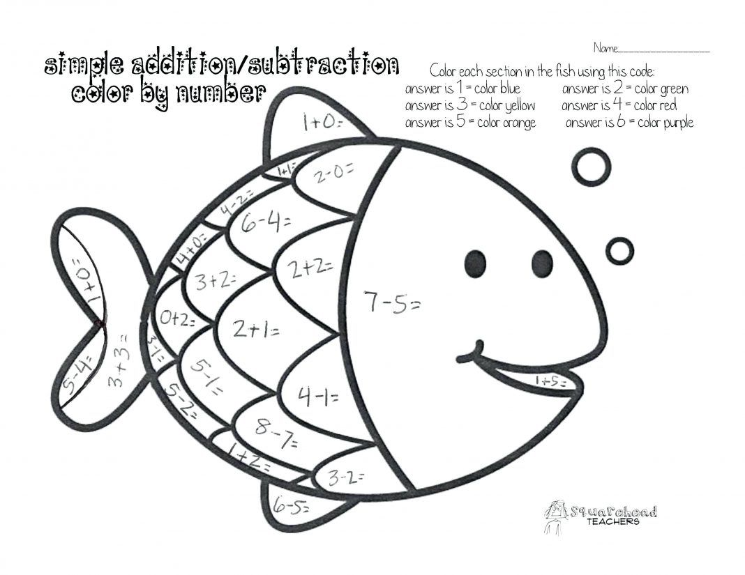 39 Simple First Grade Math Worksheets For You In