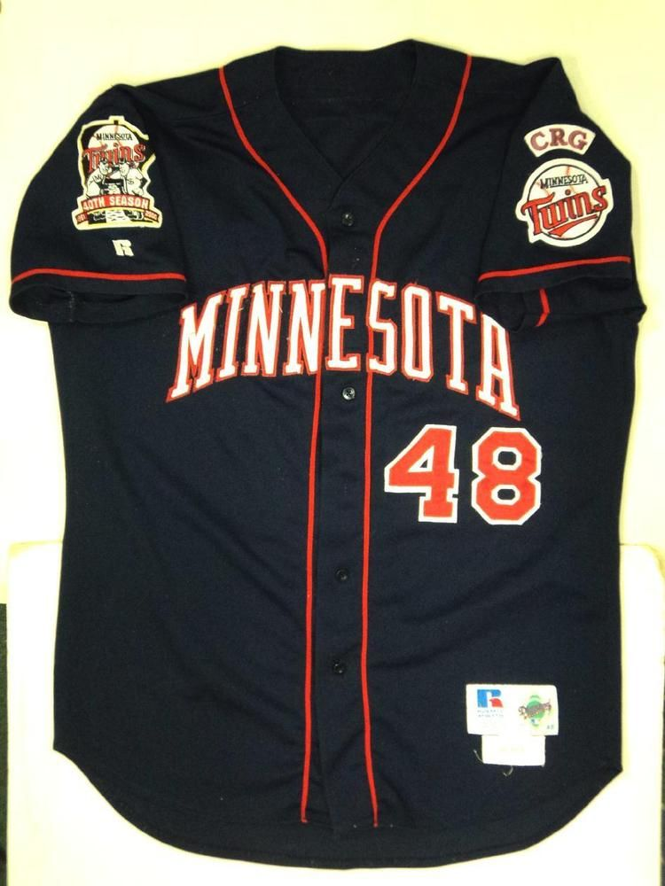 77c83358e 2000 torii hunter minnesota twins game used jersey  48 comes with twins loa  from  3869.83