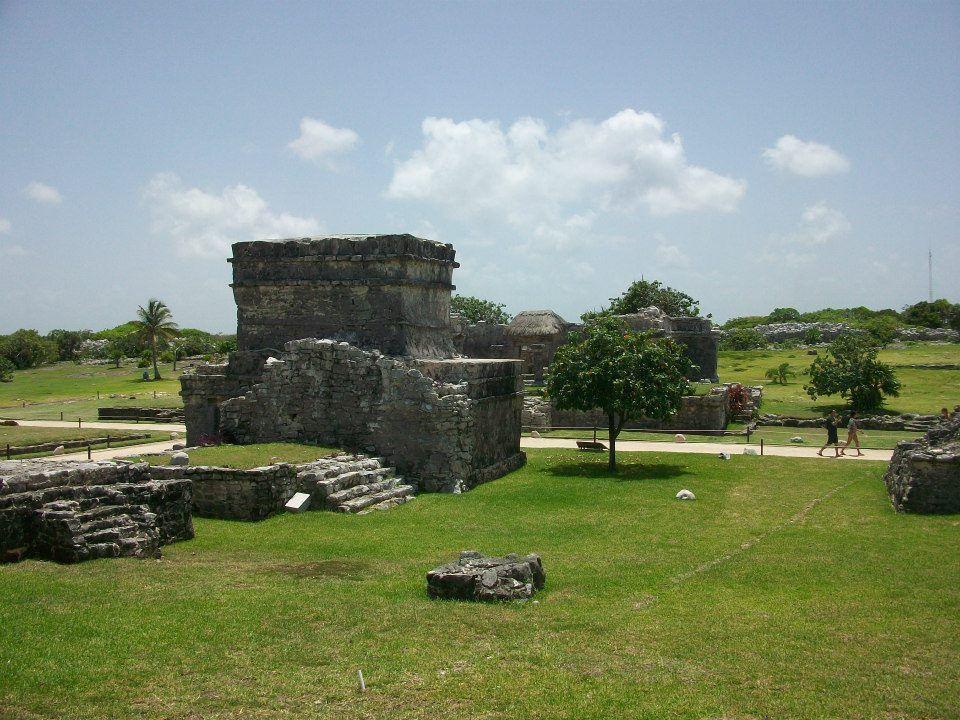 Tulúm, Riviera Maya, Cancún, Quintana Roo, México   Palacio Maya