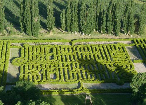 Nobletierra paisajismo: Un laberinto para  perderse junto a Borges