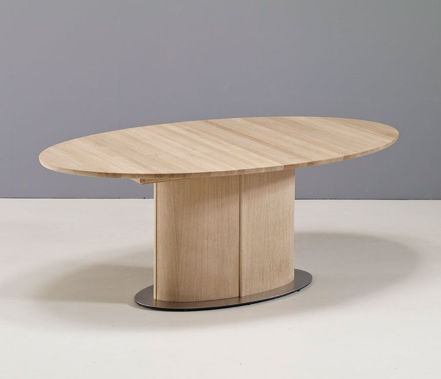 Danish Oval Pedestal Dining Table