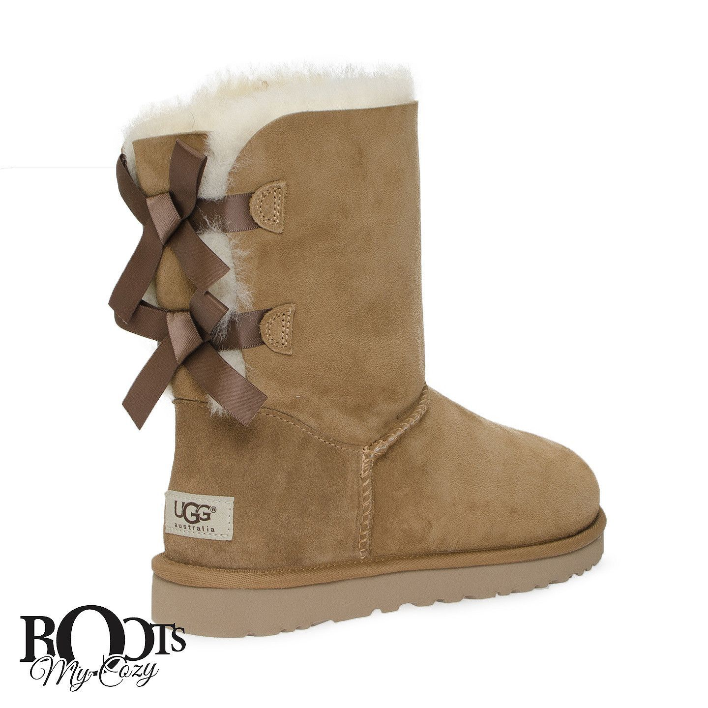 d8b53f9f88b FEATURES - 17mm grade A twinface sheepskin  sueded heel guards and nylon  binding - signature UGG woven label - cushy foam insole for extra comfort  covered ...