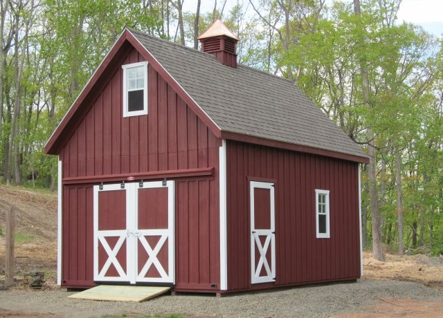 Two Story Storage Shed   Double The Fun