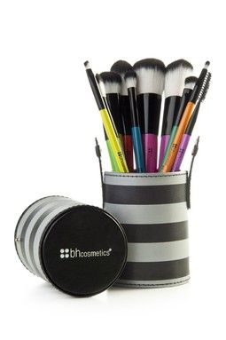 10-Piece Pop Art Brush Set - Multicolor