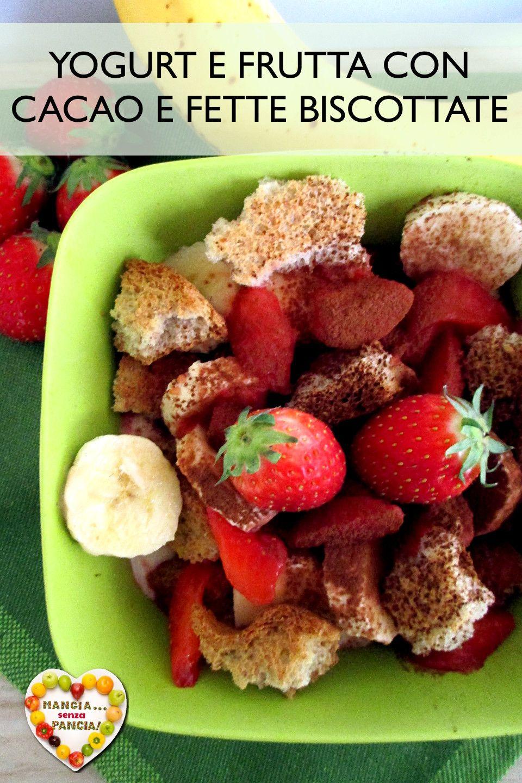 dieta con yogurt e frutta