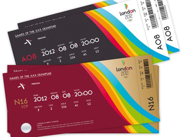 32 Excellent Ticket Design Samples UPrinting Blog Centennial - How To Design A Ticket For An Event