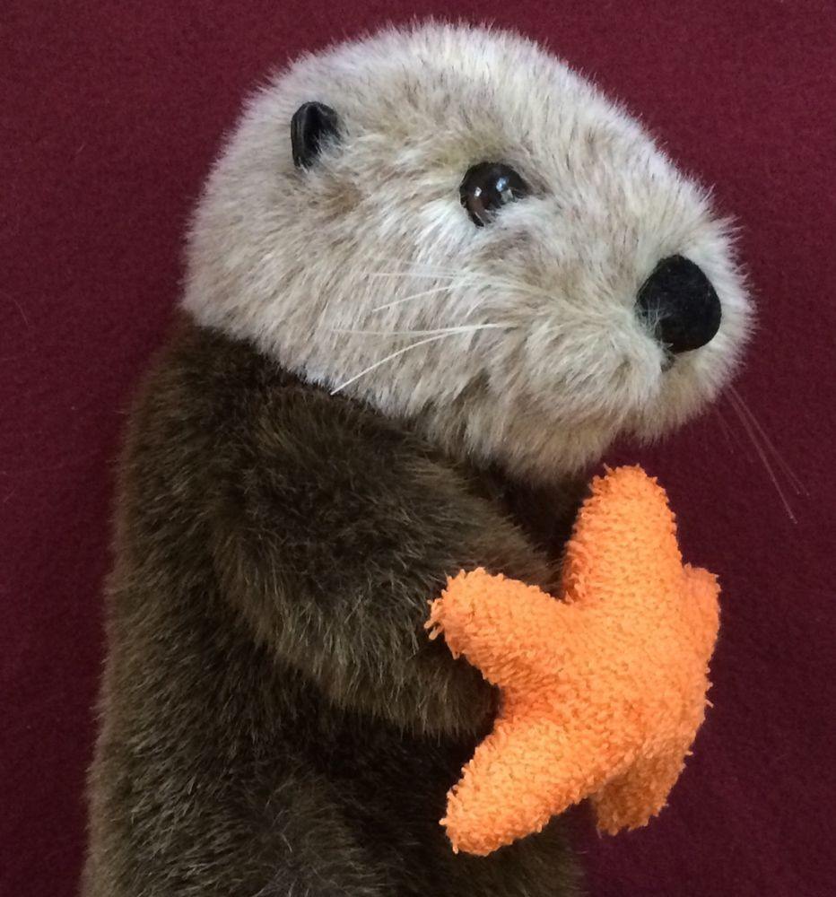 14 Otter With Star Fish Stuffed Animal House