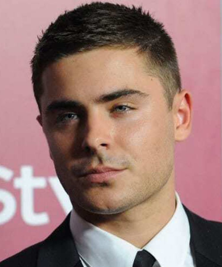 Number 4 Haircut : number, haircut, Men's, Hairstyles, [with, Celebrities, Inspiration], Dapper, Confidential, Efron, Short, Hair,, Clipper, Sizes,