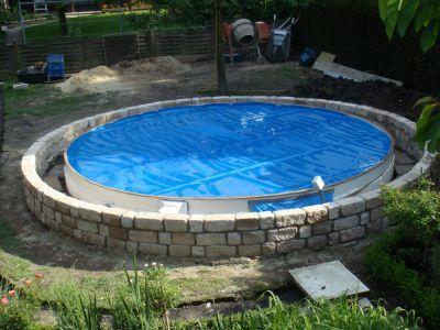 Klicken für Bild in voller Größe #poolselberbauen