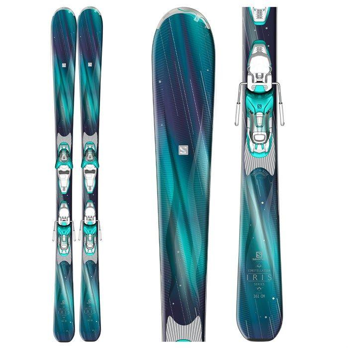 Salomon Iris Skis w Bindings