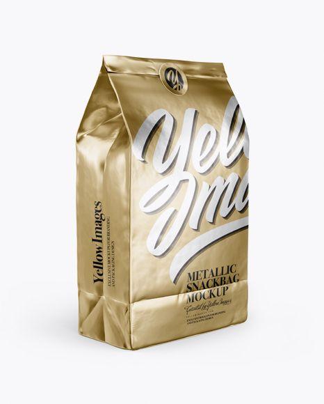 Download Metallic Snack Bag With Label Mockup Half Side View In Bag Sack Mockups On Yellow Images Object Mockups Mockup Free Psd Free Psd Mockups Templates Free Logo Mockup Psd