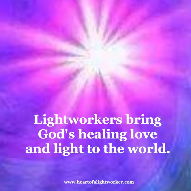 Lightworkers Bring Godu0027s Healing Love And Light To The World.  @michaelsusanno