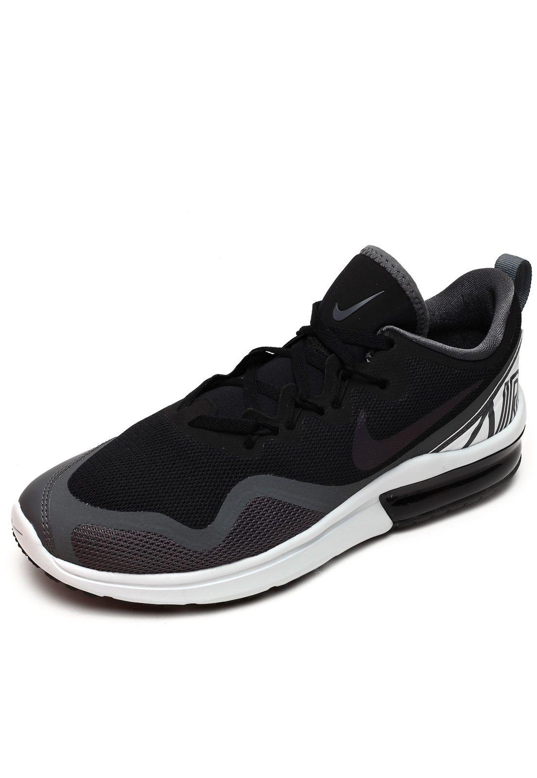 Tênis Nike Air Max Fury Preto   Nike air max, Ar max e Tenis