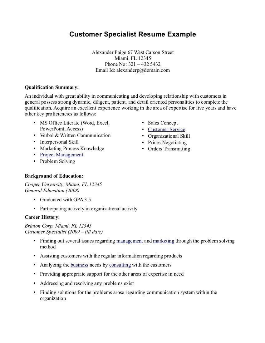 Top 12 Tips For Writing A Great Resume Resume Summary Examples