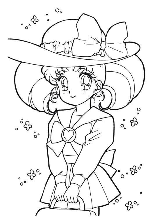 Sailor Moon Series Coloring Pages: Chibi USA | para colorear ...