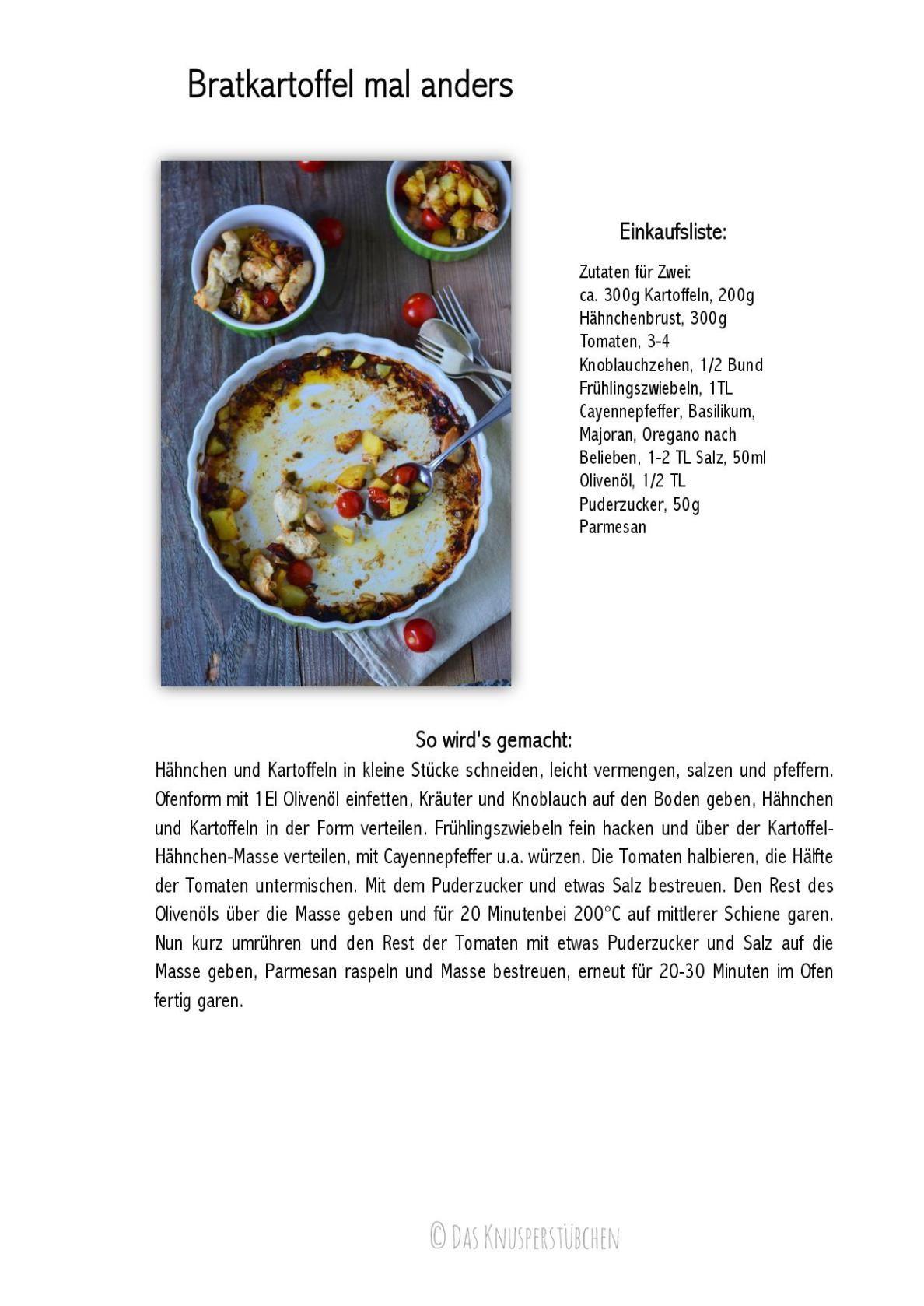 Bratkartoffel Aus Dem Ofen Schnelles Wochendinner Knusperstubchen Bratkartoffel Lebensmittel Essen Rezepte