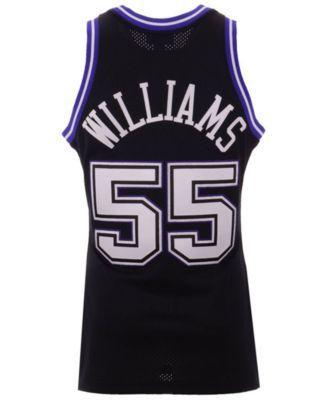 finest selection 38037 9a635 Mitchell & Ness Men Jason Williams Sacramento Kings ...