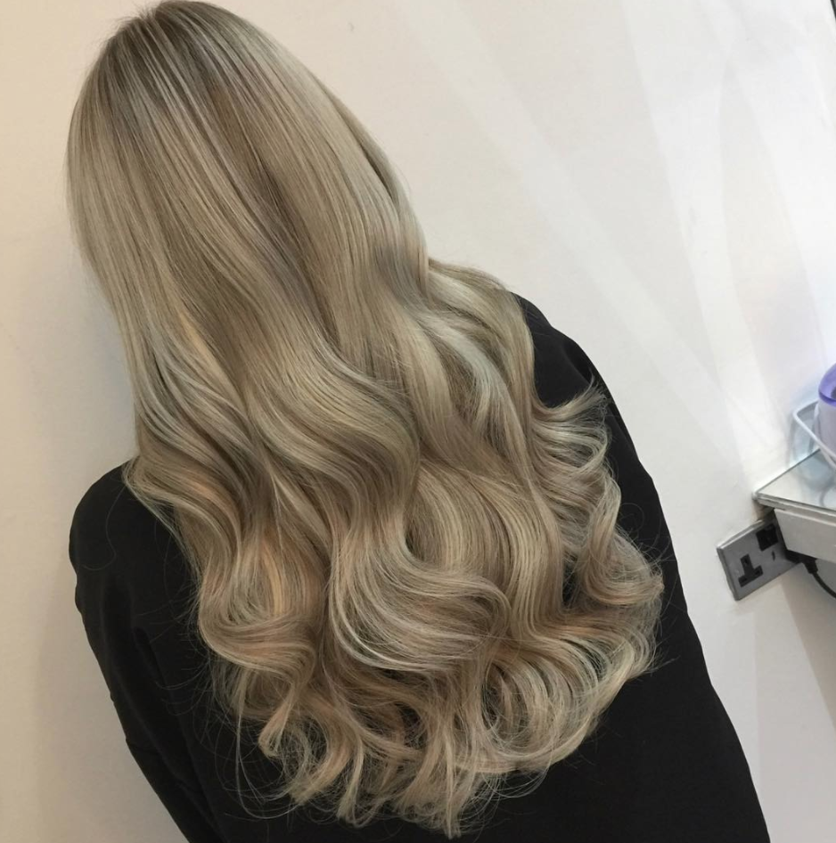 22 Inch Clip In Blonde Hair Extensions In Scandinavian Blonde Beauty