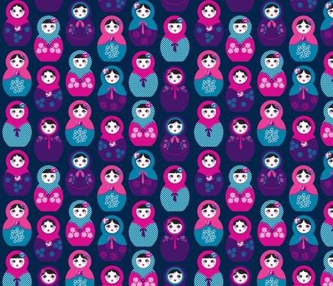 Babushka fabric by danielle_b on Spoonflower - custom fabric