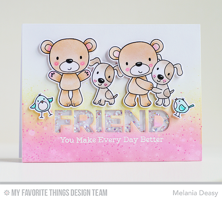 Friends Furever Stamp Set and Die-namics, Friend Die-namics