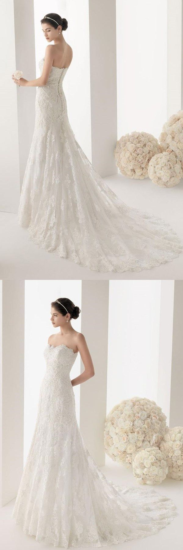 Admirable wedding dresses lace fashion off shoulder sleeve wedding