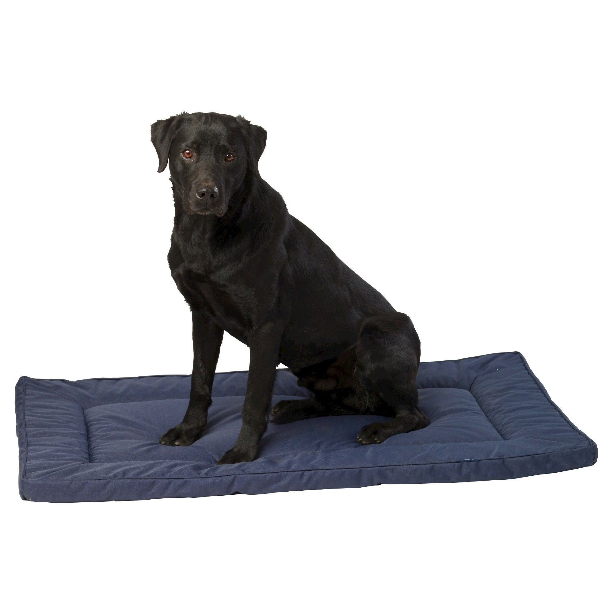 House Of Paws Water Resistant Pet Crate Mat Navy Blue Extra Large Pet Crate Puppy Crate Crate Mat
