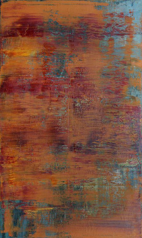 """Koen Lybaert; Oil 2013 Painting """"abstract N° 739"""""""